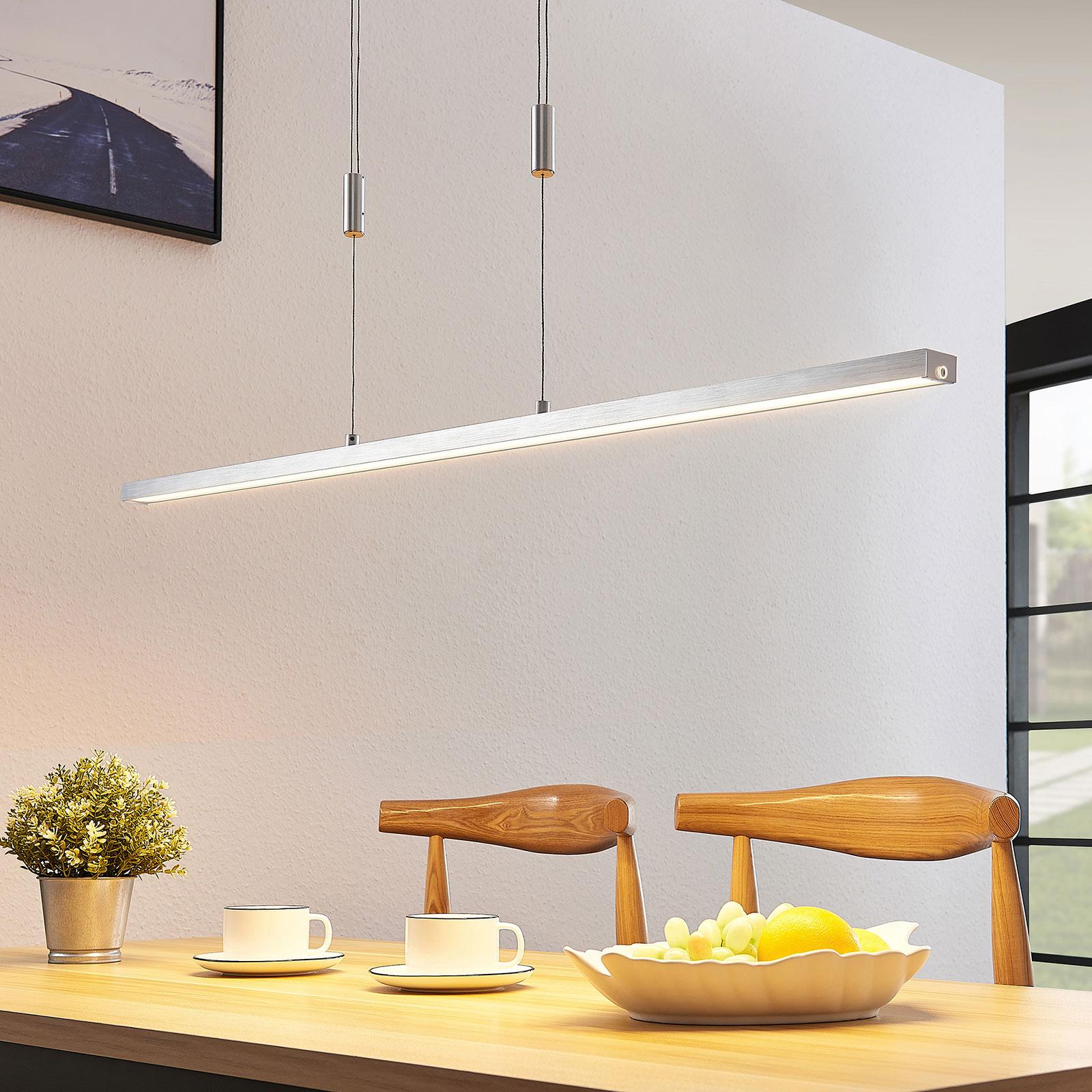 Lucande Myron lampa wisząca LED ze ściemniaczem