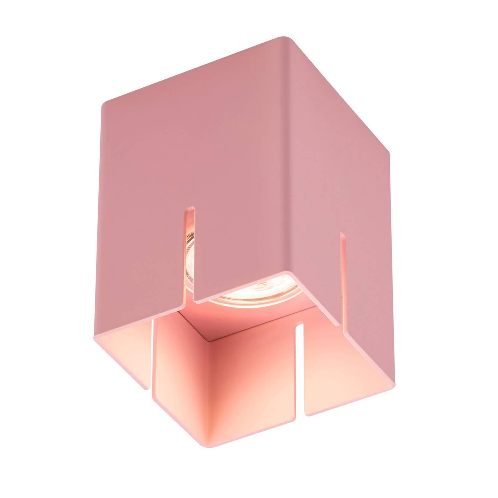 Baulmann 83.200 Deckenleuchte, rosa, Höhe 10 cm