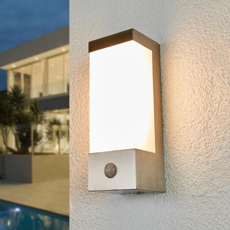 LED venkovní nástěnné svítidlo Severina senzor