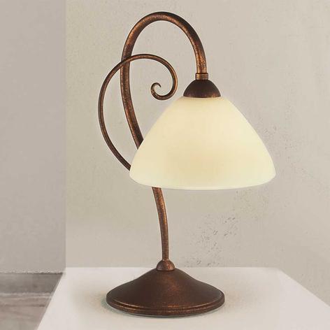 Stolní lampa Federico antická