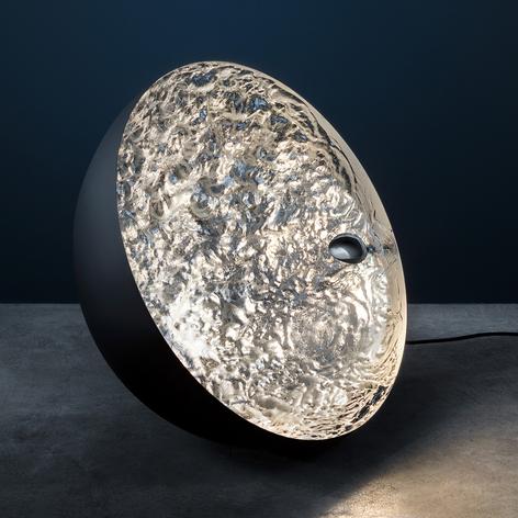 Catellani & Smith Stchu-Moon 01 Bodenlampe schw/si