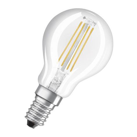OSRAM Classic P LED-Lampe E14 4W 827 3-Step-dim