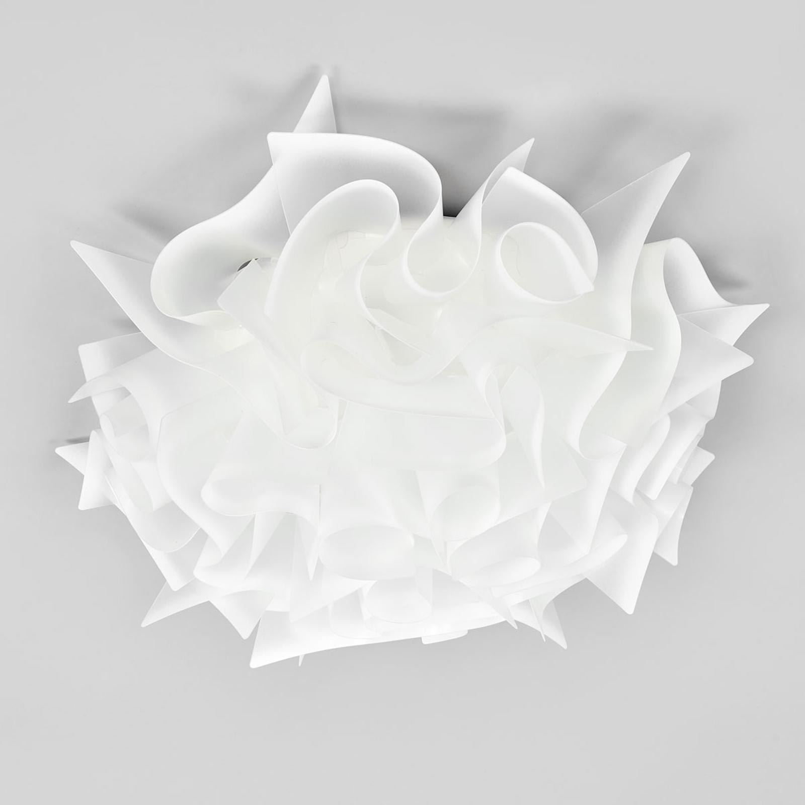 Slamp Veli - plafonnier design, Ø 53cm, opale