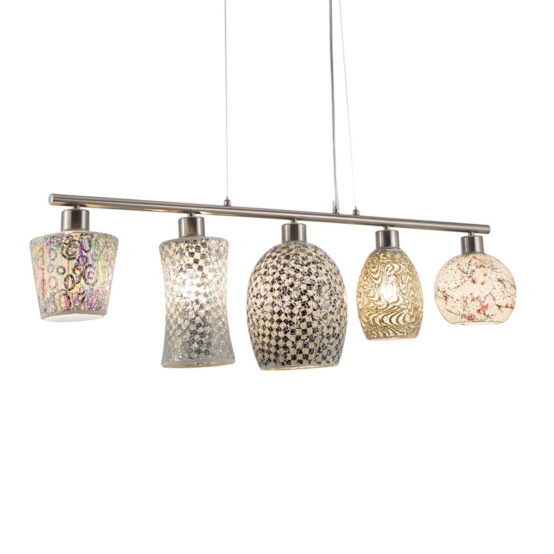 Hanglamp Arezzo, 5-lamps