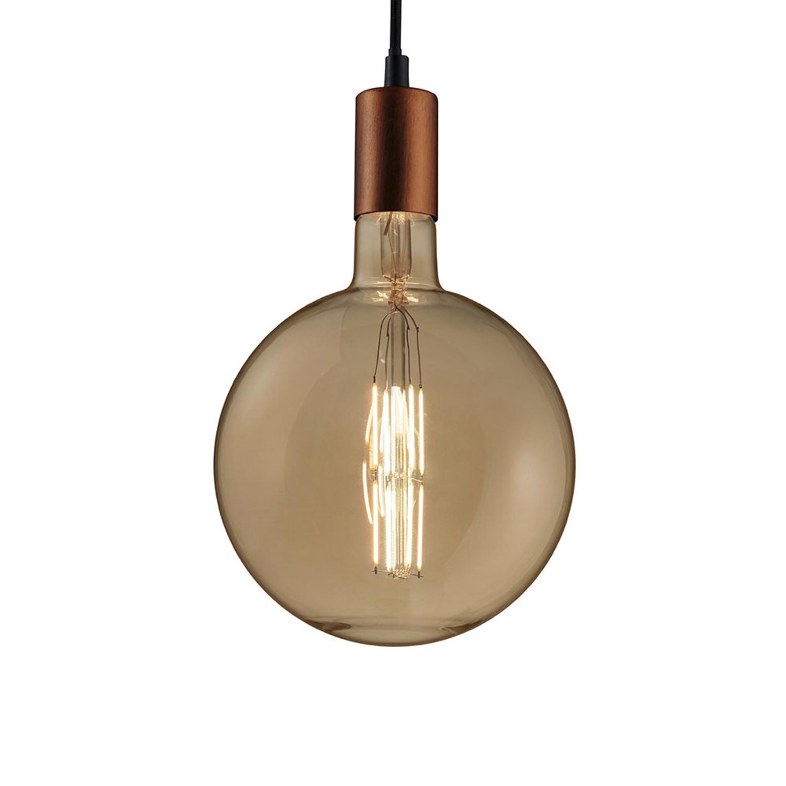 WiZ LED-Globelampe E27 6,5W 650lm dimmbar Filament