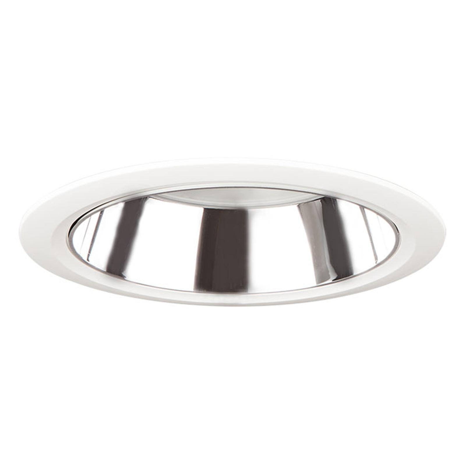 D70-RF155 HF LED-downlight 4 000 K hvit/sølv