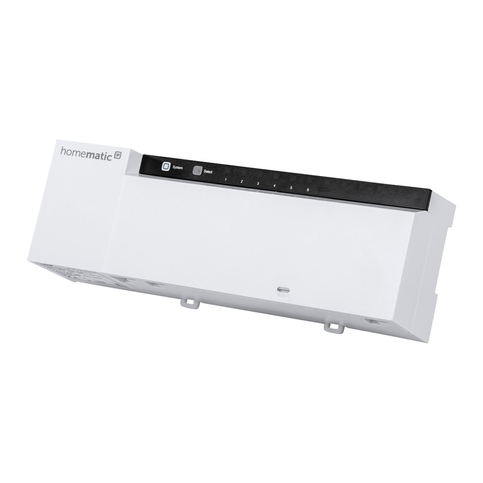 Homematic IP Fußbodenheizungsaktor, 6-fach, 24 V