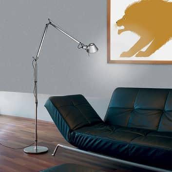 Artemide Tolomeo stojací lampa E27 hliník