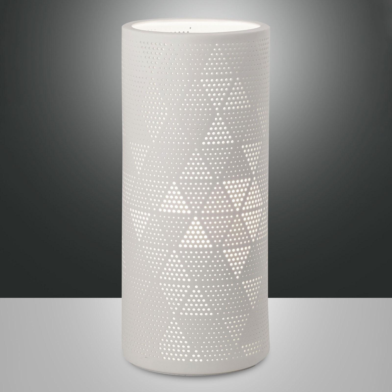 Tischleuchte Micol aus Keramik, Höhe 28,5 cm