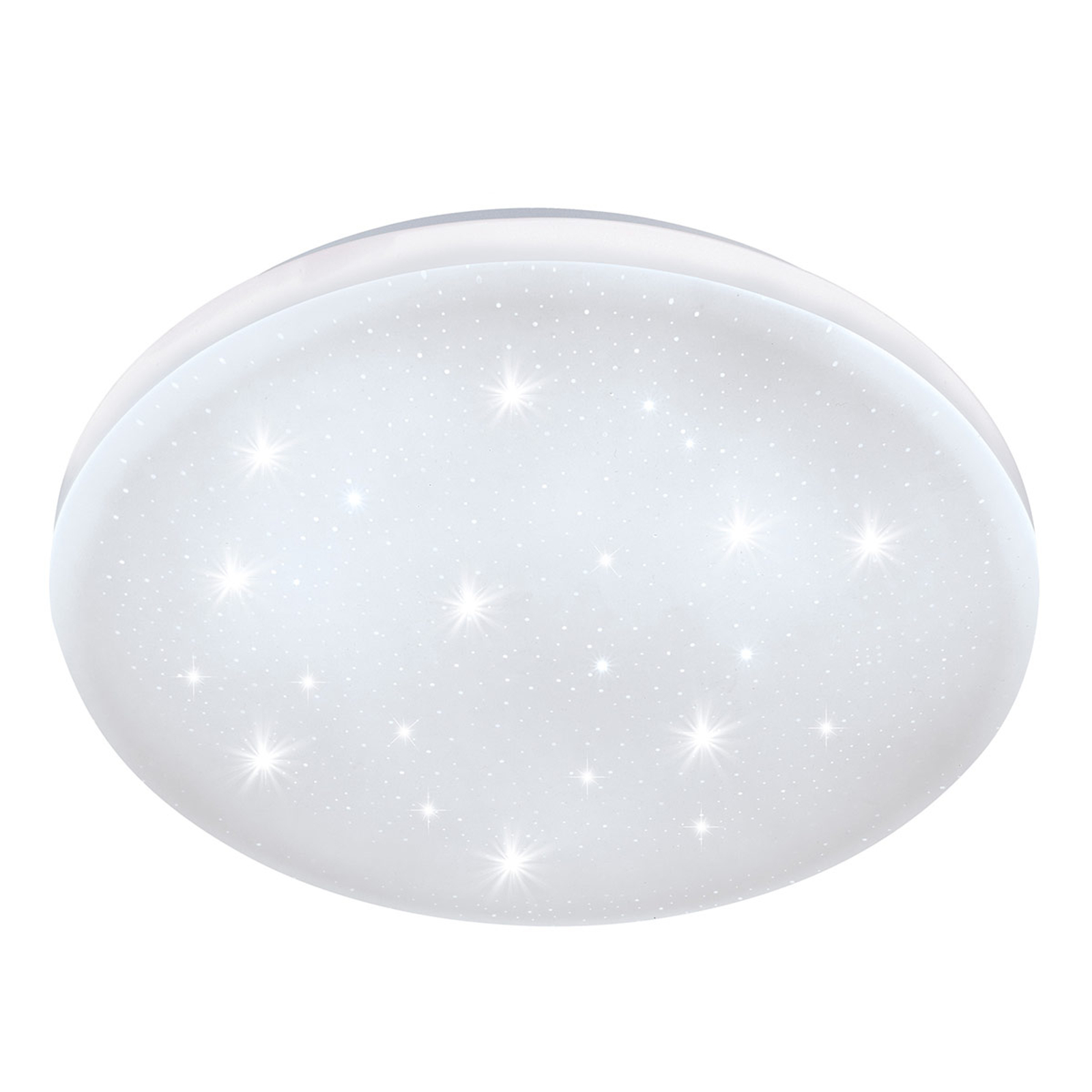 LED-taklampe Frania-S med krystalleffekt Ø28 cm