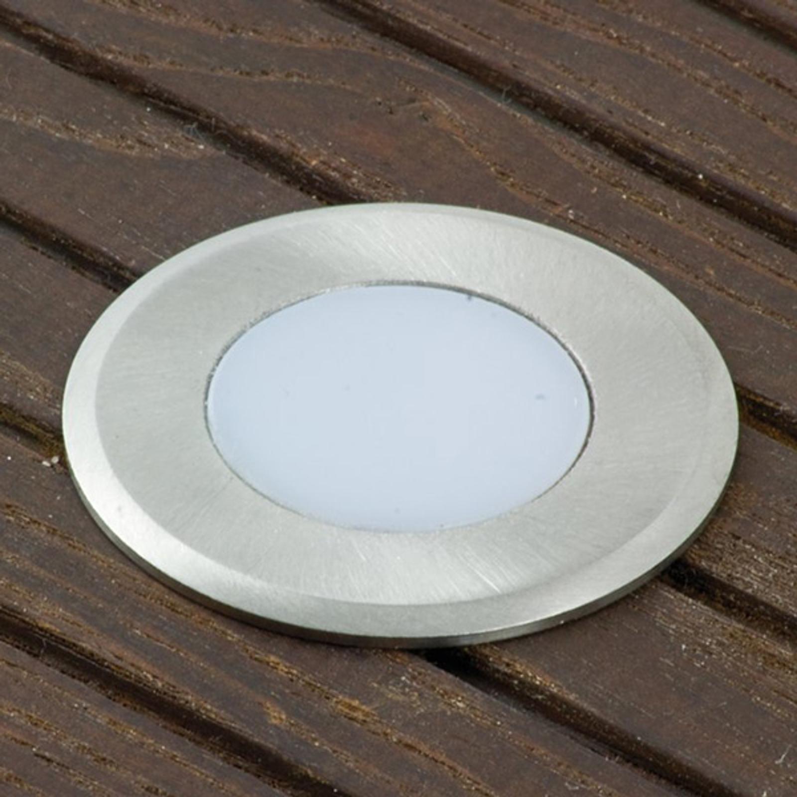 Lisäspotti LED Nürnberg 4, pyöreä, 0,3 m johto