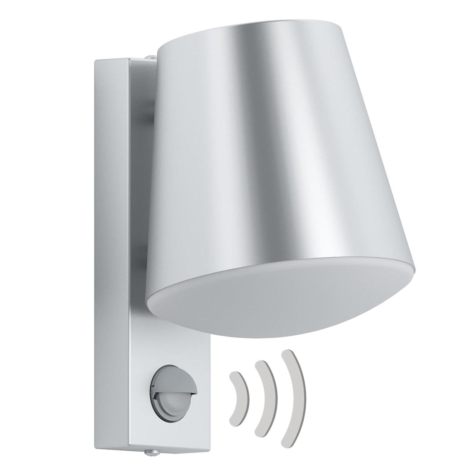 Buitenwandlamp Caldiero van roestvrij staal sensor