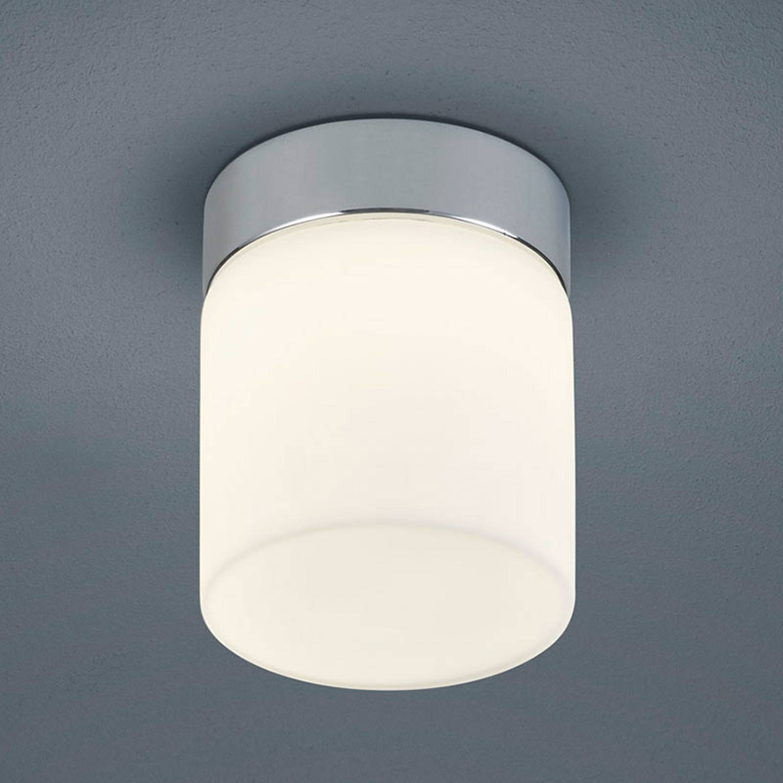 Helestra Keto - LED badkamer-plafondlamp, cilinder