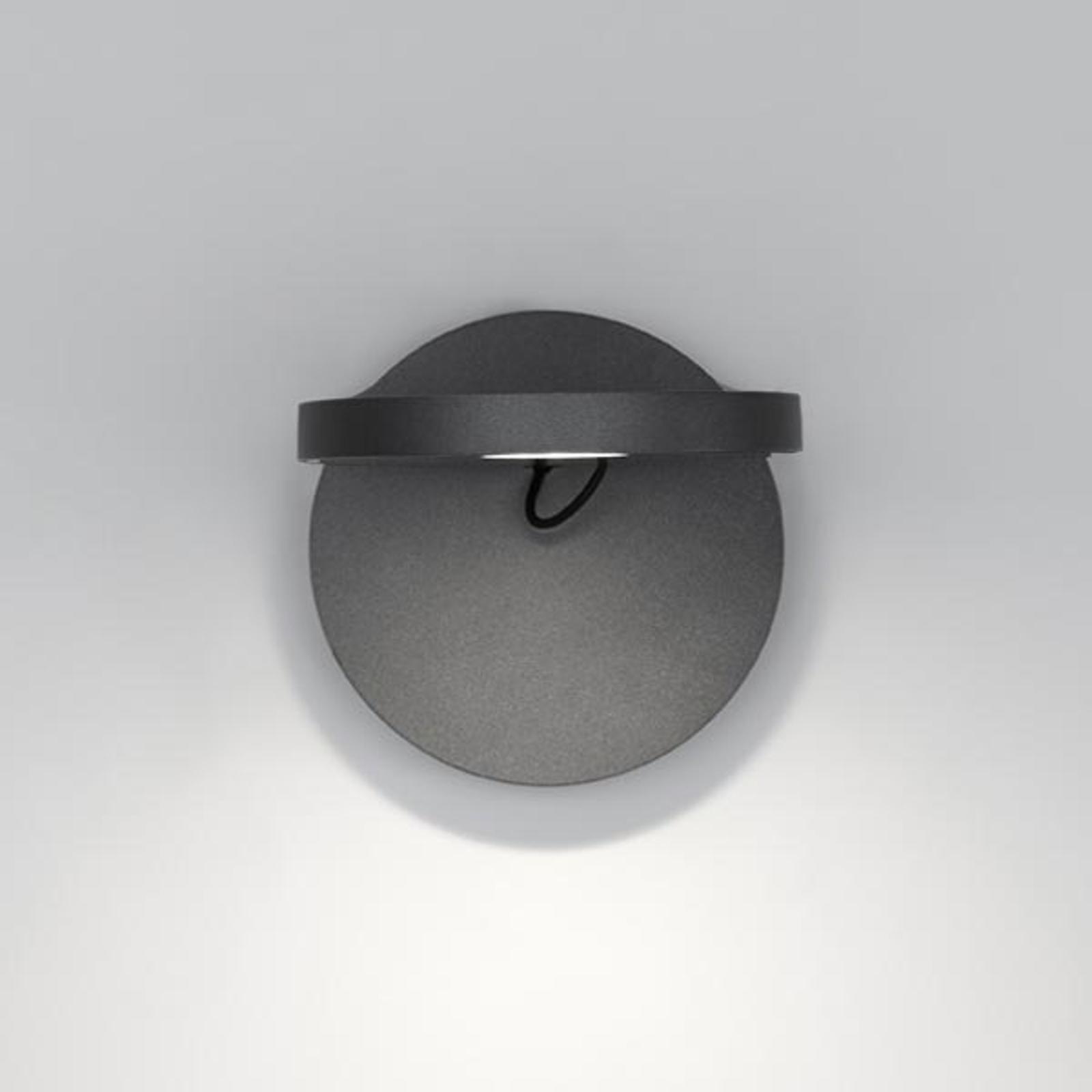 Kleine LED design wandlamp Demetra Spotlight