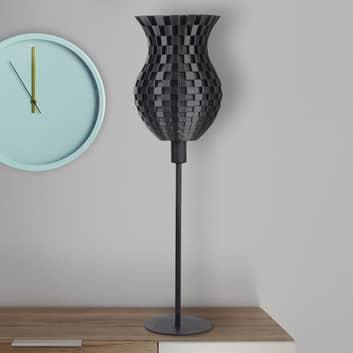 Bordslampa Flätverk, 3D-tryck, grafit