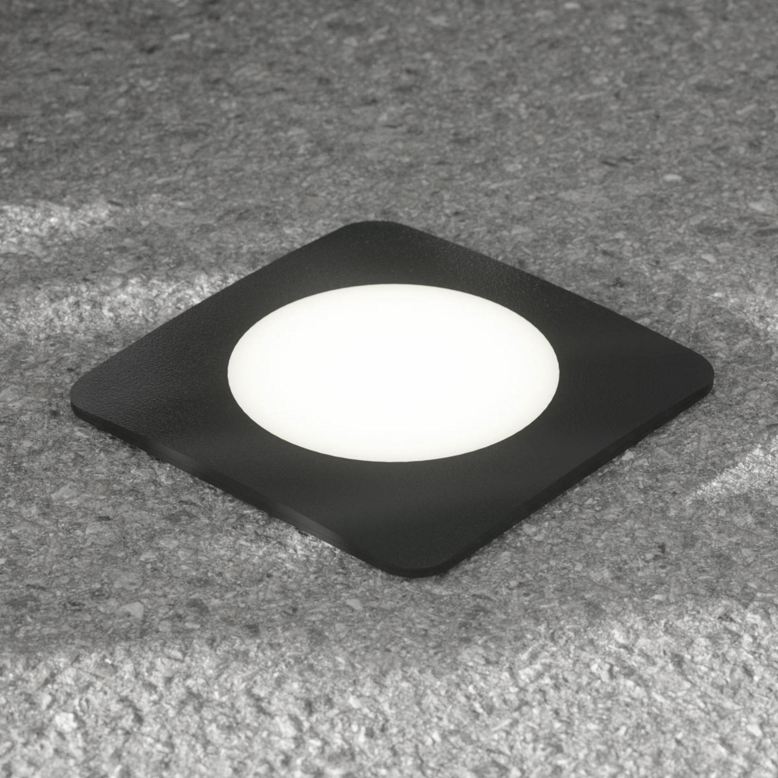 Oprawa wpuszczana LED Ceci 160-SQ czarna CCT