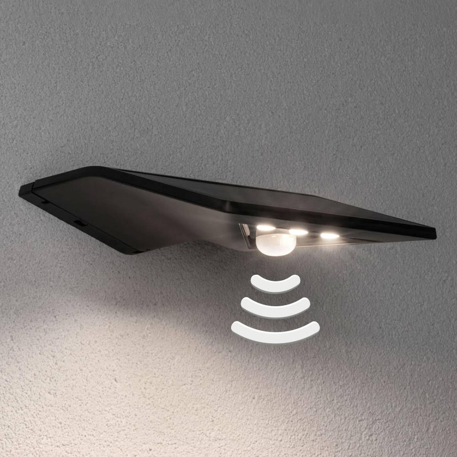 Paulmann applique solaire LED Yoko anthracite