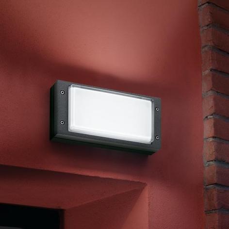 Moderne BLIZ RING utendørs vegglampe i antrasitt