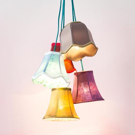 KARE Saloon Flowers 5 designerska lampa wisząca