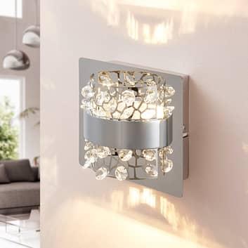 Nástěnná LED lampa Neelie se sklem, 1bodová