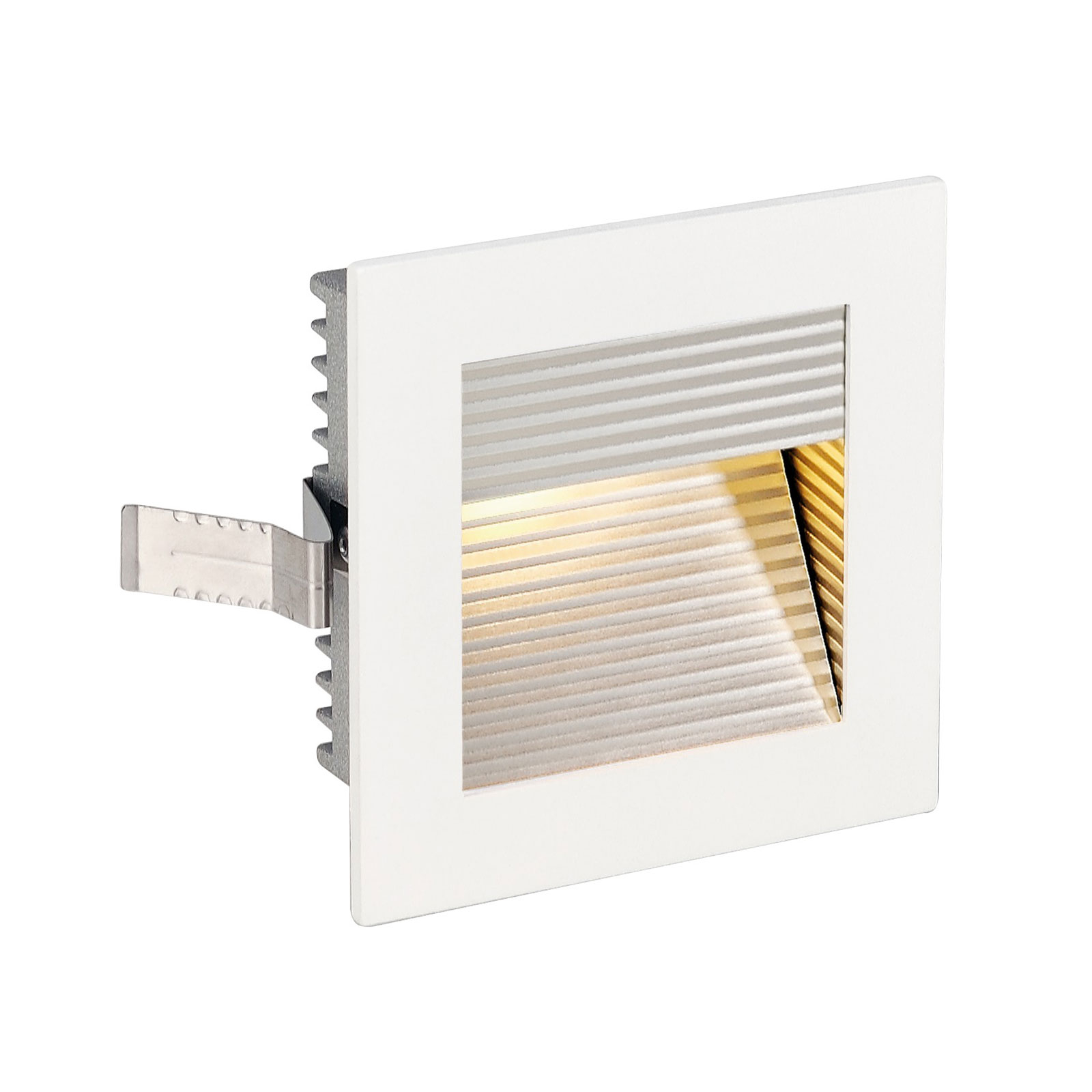 SLV LED-Einbaulampe Frame Curve LED 3.000K weiß