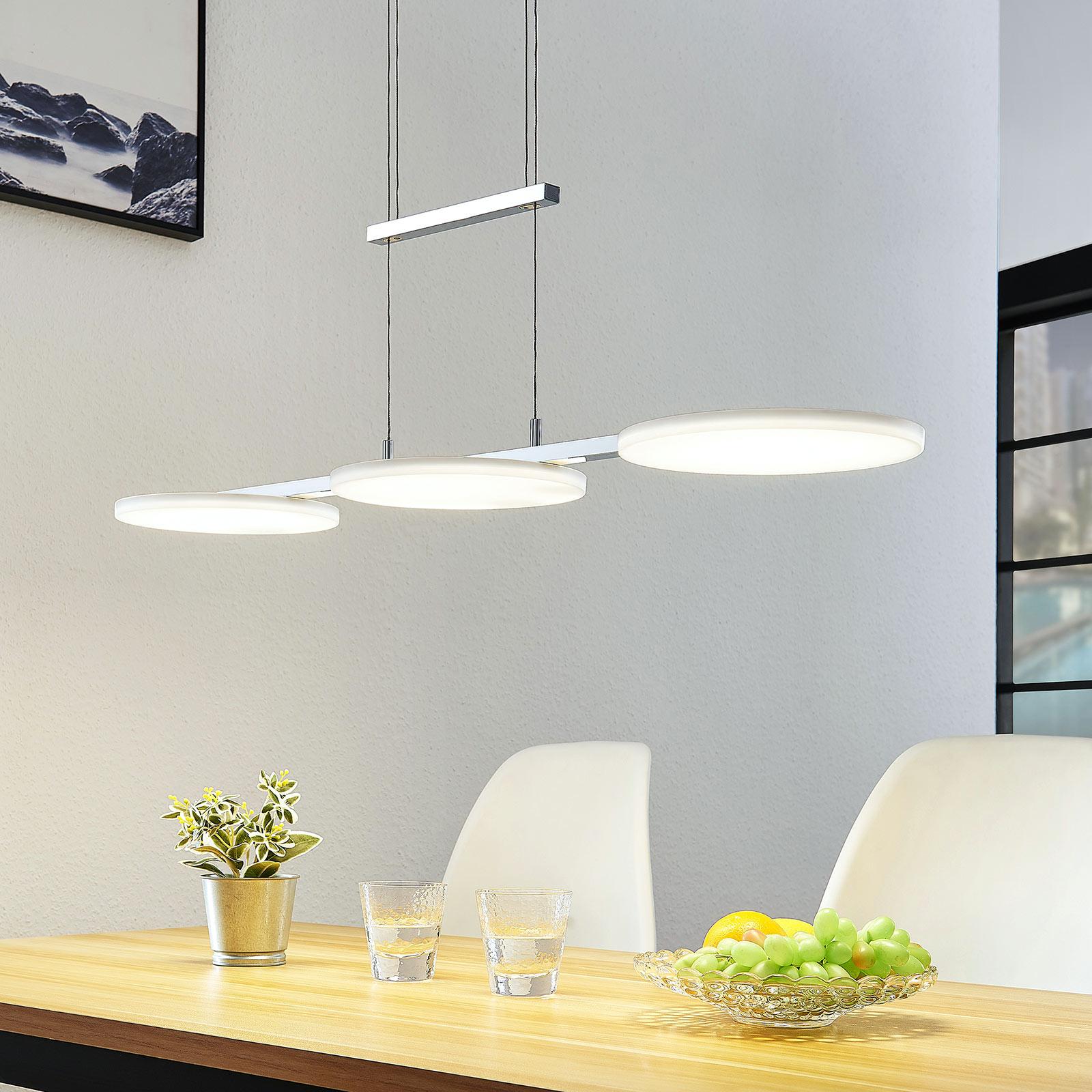 LED závěsné svítidlo Sherko, 3zdrojové