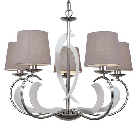 Evelyn - lámpara de araña de 5 luces