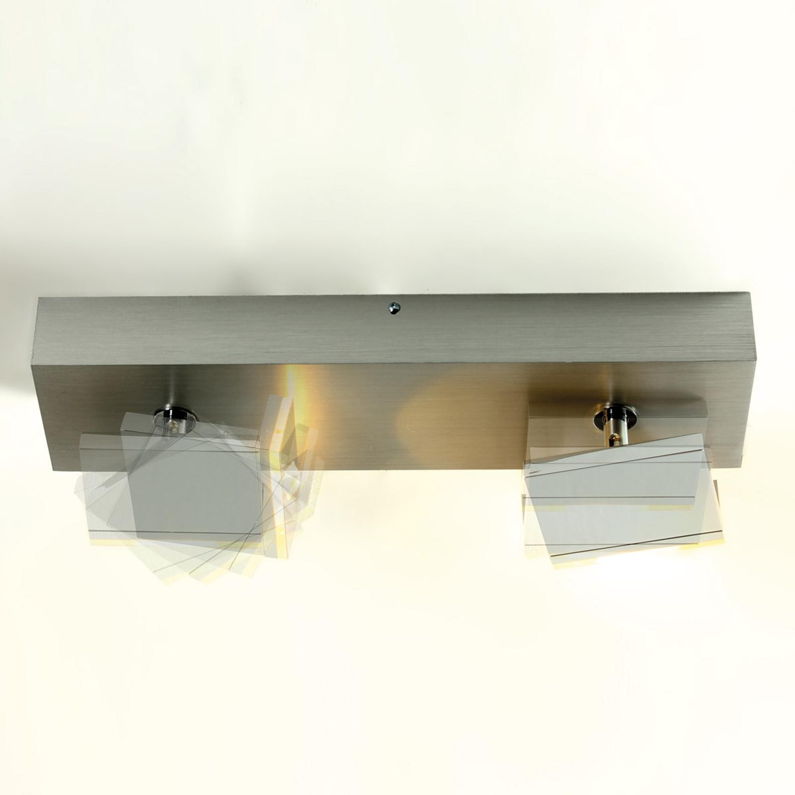 Elle - moderne LED-spot, 2 lyskilder