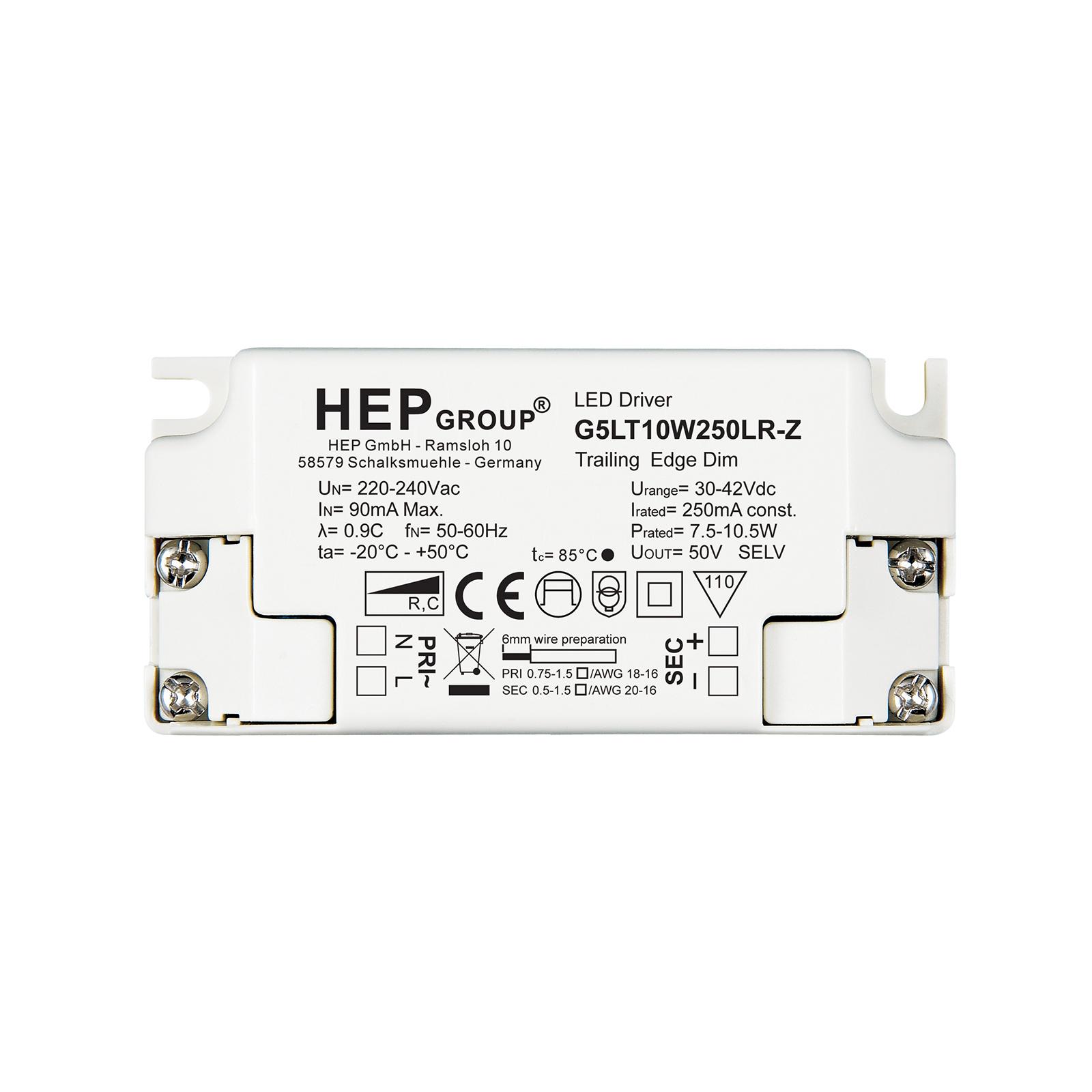 LED-drivare G5LT, 10 W, 250 mA, dimbar, CC