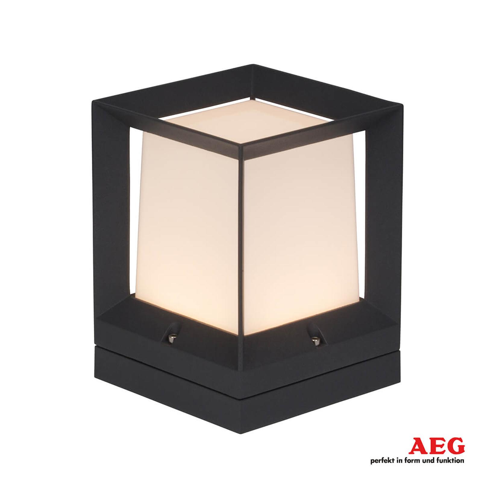 AEG Kubus - eckige LED-Sockelleuchte