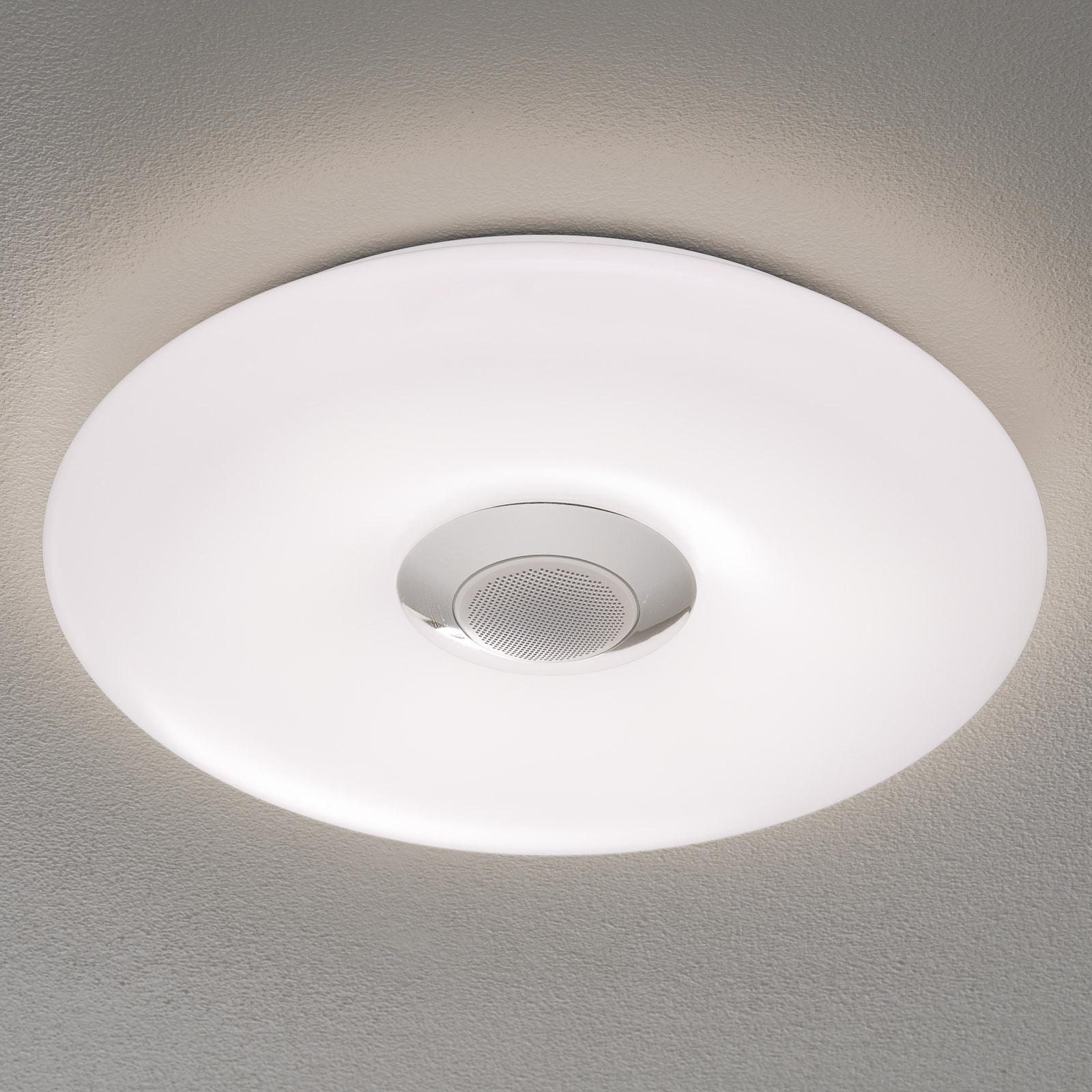 Nashville - LED-loftlampe, RGBW med højttaler