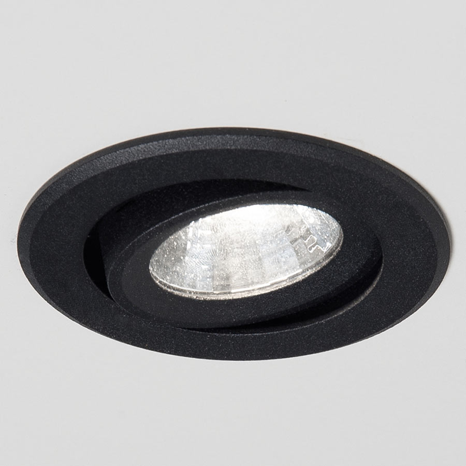 Acquista Agon Round spot LED incasso 3.000K 40° nero