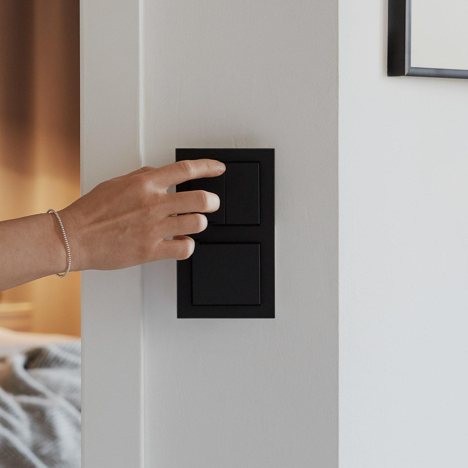 Senic Smart Switch Philips Hue, 3-er, schwarz matt