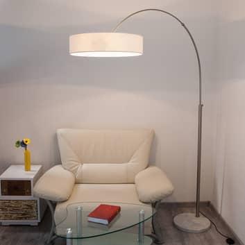 Shing - lampada da terra con diffusore in tessuto