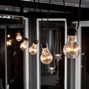 LED světelný řetěz Biergarten rozšíření, jantar