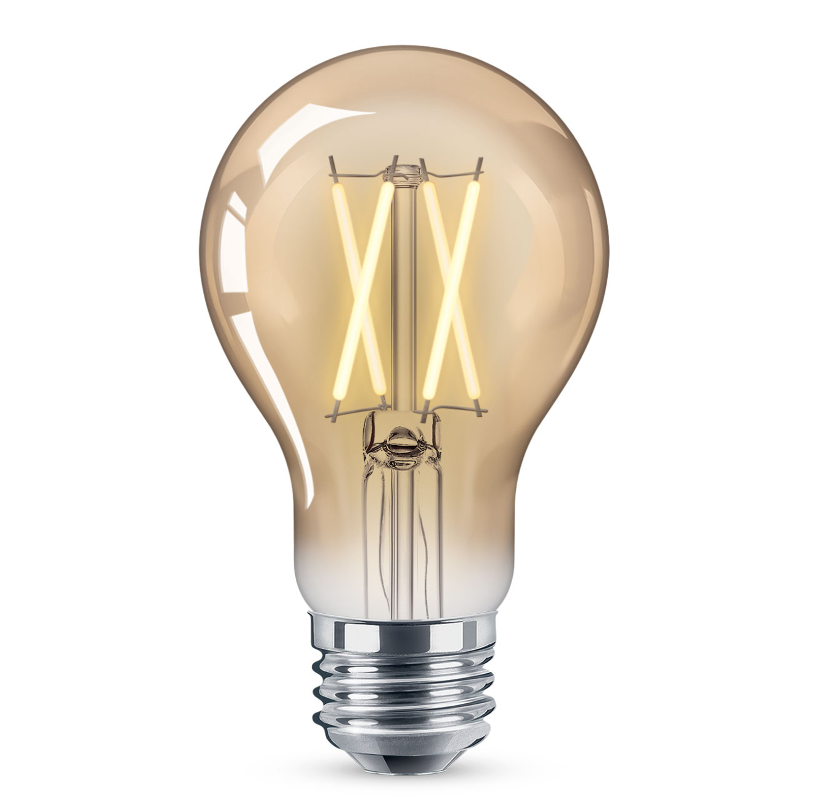 WiZ E27 LED A60 filament ambre 6,5W 2000-4500K