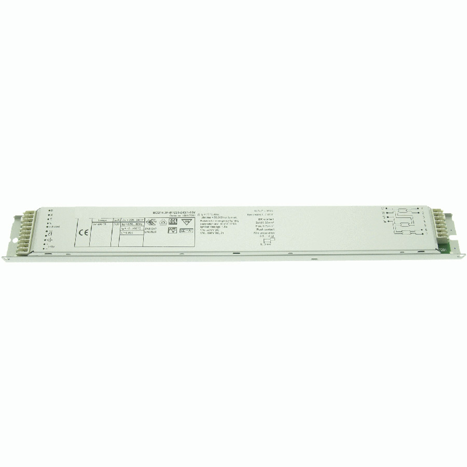 BE 3x14W T5 BCD14.3F-01/220-240/1-10V dimmable