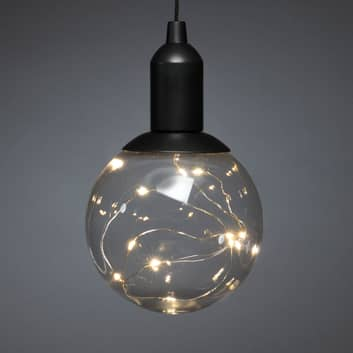 LED-Dekoleuchte Kugel, batteriebetrieben