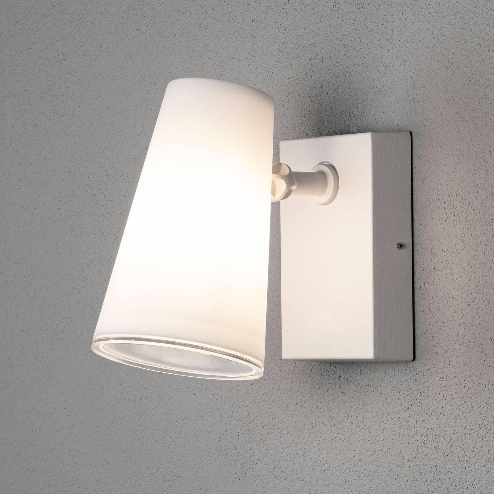 LED-buitenwandspot Fano, instelbaar