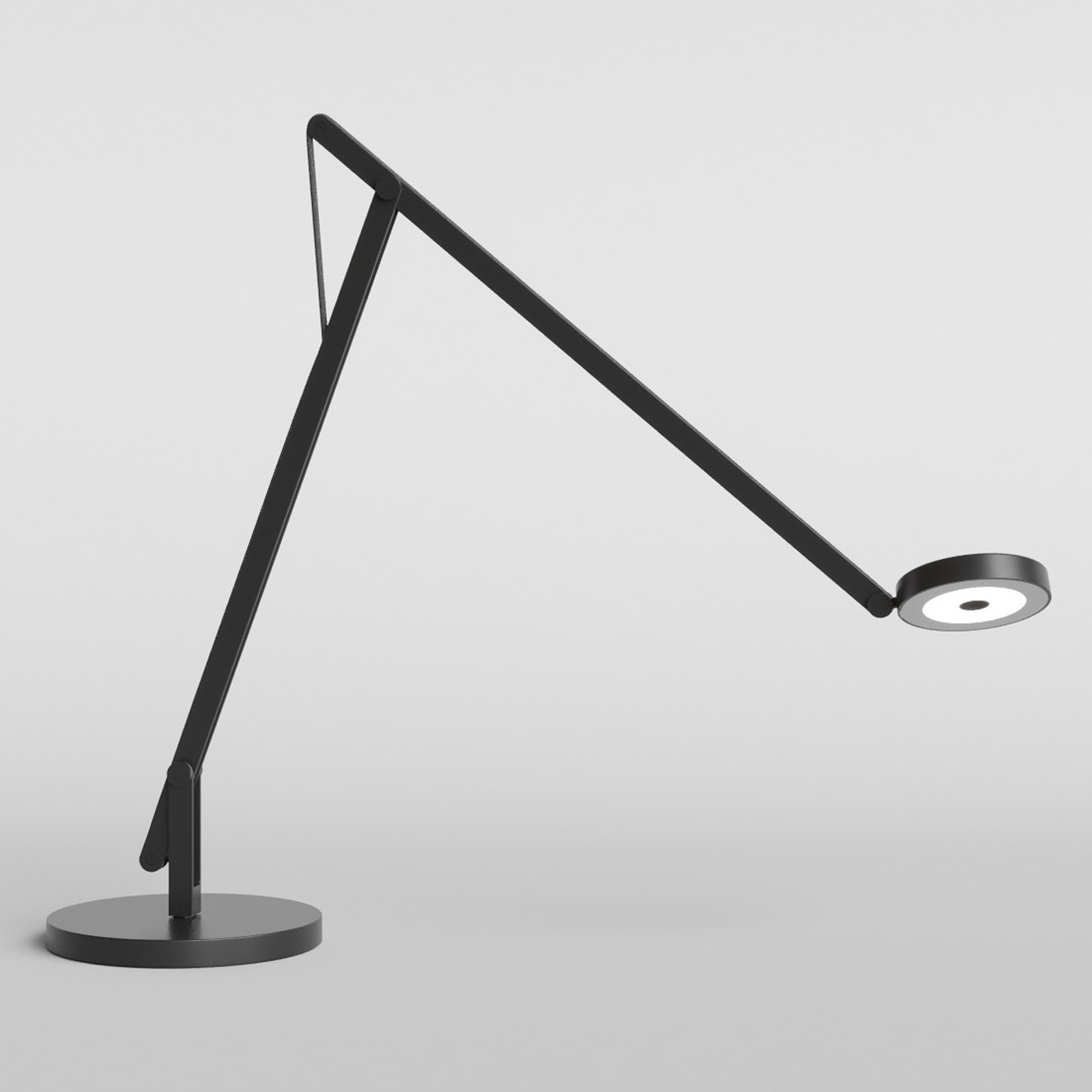Rotaliana String T1 DTW LED-Tisch schwarz, schwarz