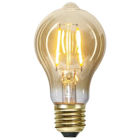 LED lamp E27 0,75W Vintage goud 2.000K amber