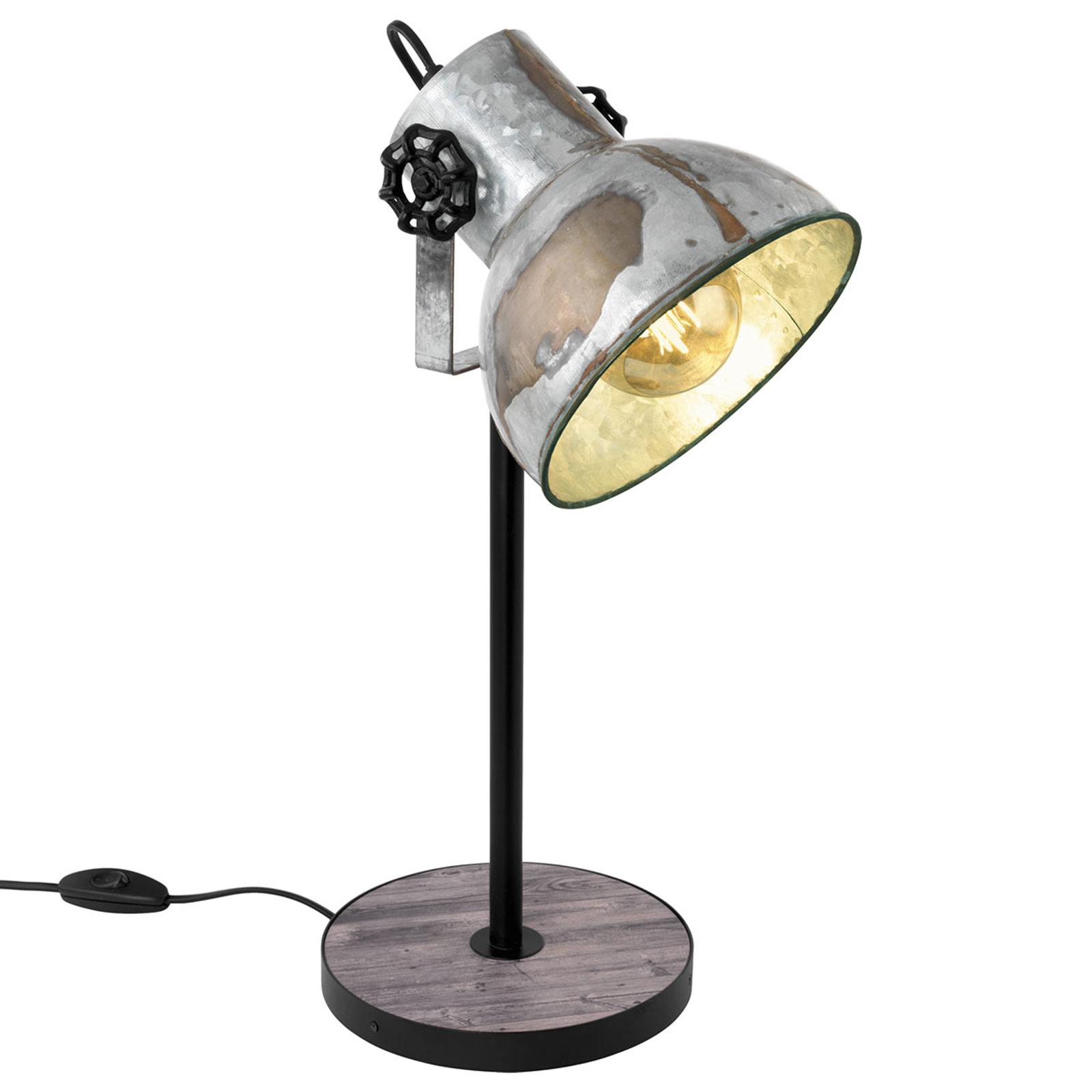 Bordlampe Barnstaple i industrielt design