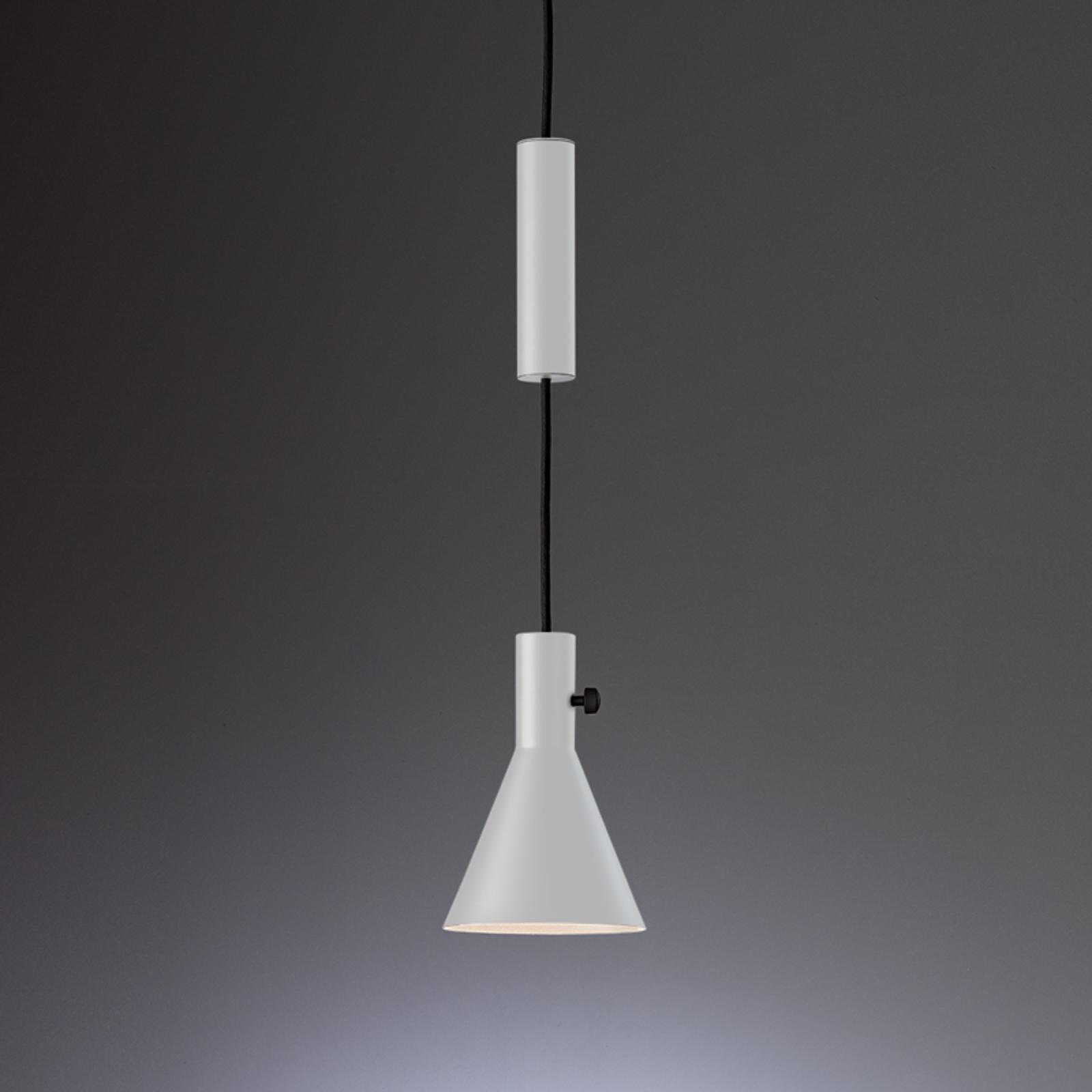 Witte led designer hanglamp Eleu