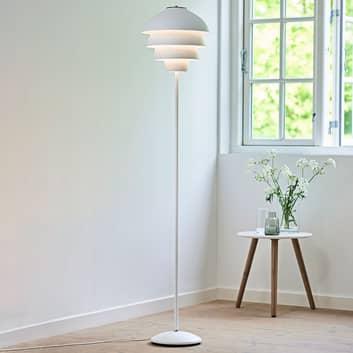 Lampa podłogowa Valencia, biała