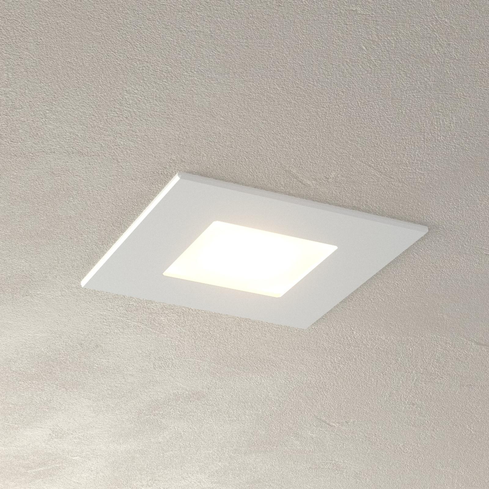 Weiße LED Einbauleuchte Klaus für Einbaudosen