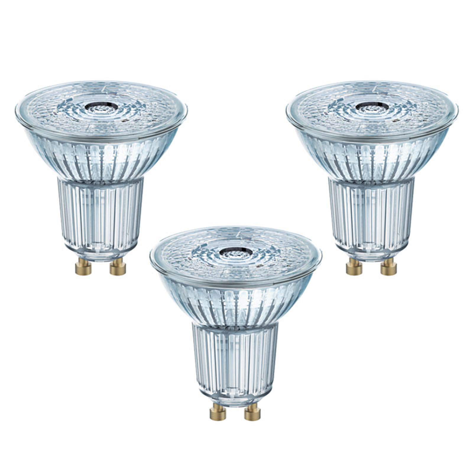 GU10 2,6W 827 LED-Reflektor Star 3er-Set
