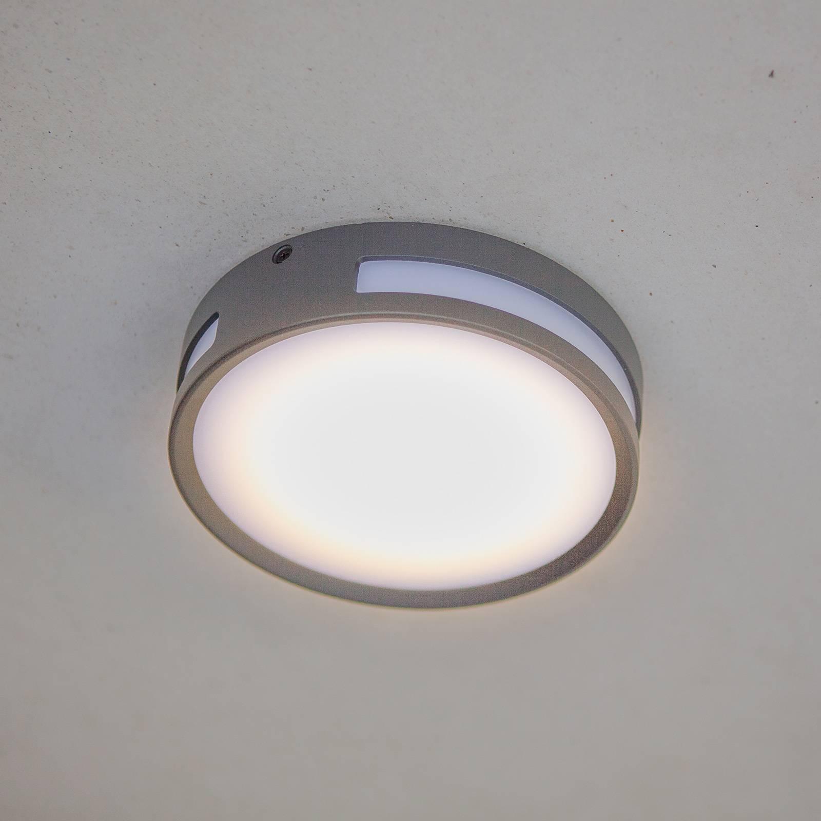 Plafoniera LED Rola per l'esterno, rotonda