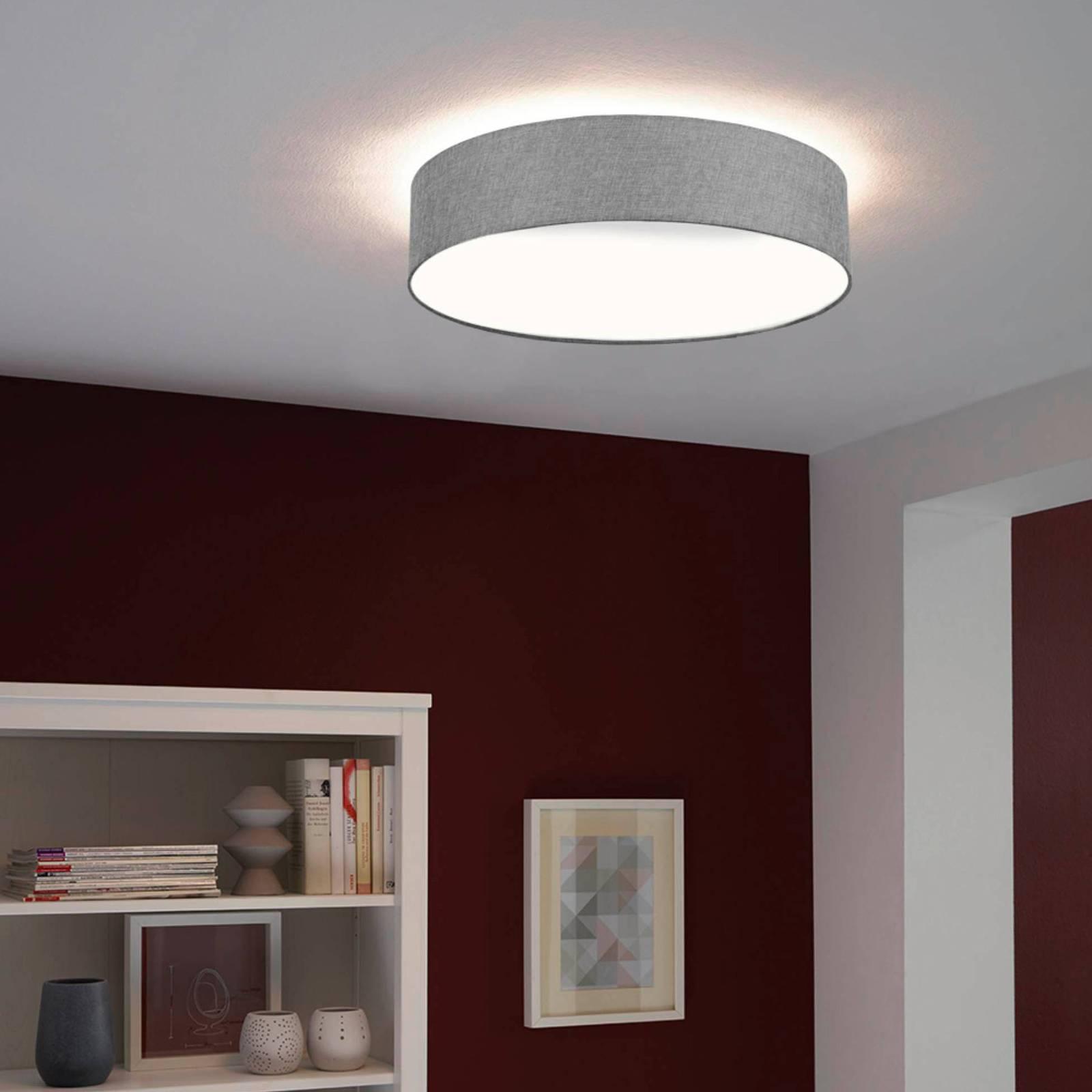 EGLO connect Ramao-C lampa sufitowa LED szara 57cm