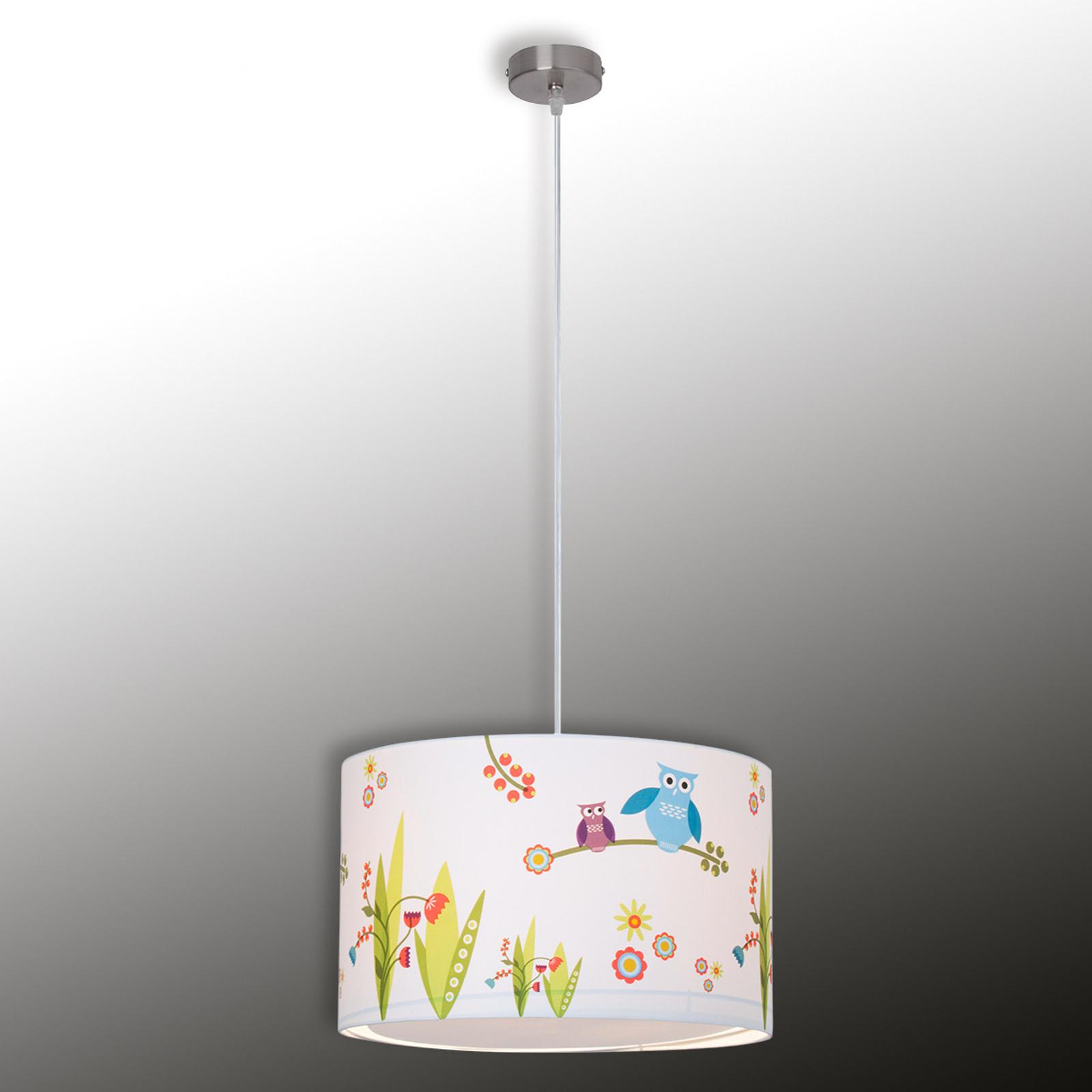 Kinderzimmer-Hängeleuchte Birds
