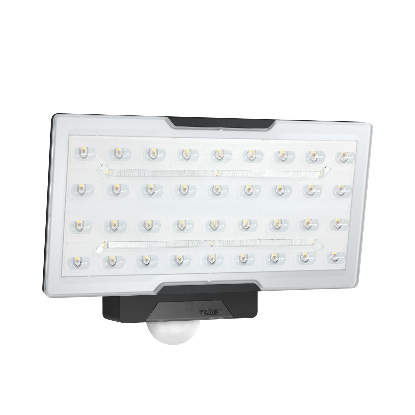 STEINEL XLED Pro Wide LED-Außenstrahler schwarz